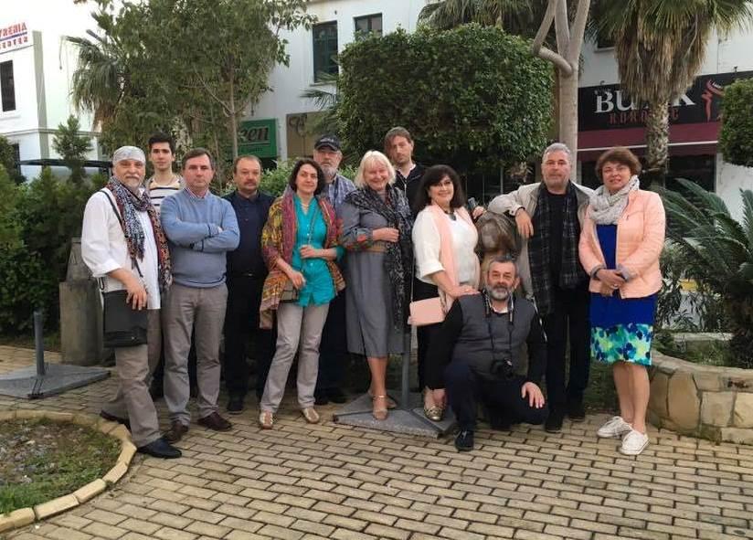 The Plen Air of Ukrainian artists in Lefkosa, Cyprus