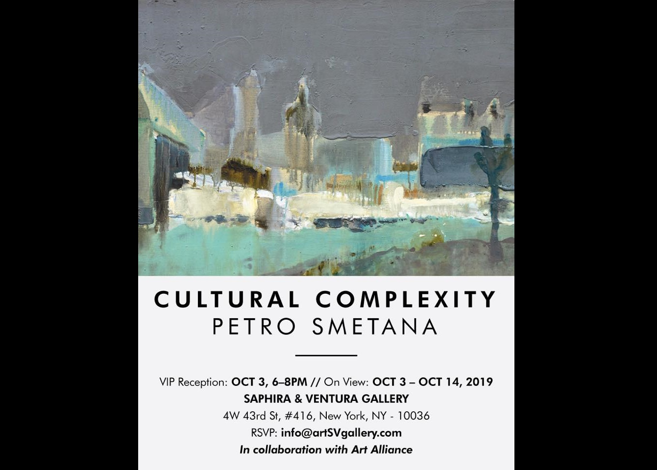 Exhibition Cultural Complexity. Opening. New York
